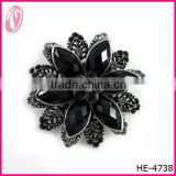 wholesale 2013 Elegant jewelry Rhinestone brooches & hijab pins in bulk