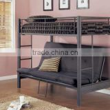 2015 black color and top grade bunk bed