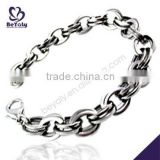 China Manufacturer 2015 latest stainless steel bracelet for glass