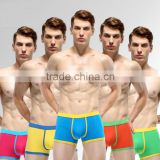 Fashion new design Colorful Men cotton lycra sexy boxers shorts /Boy boxers briefs                                                                                         Most Popular
