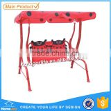 Patio kids single swing, kids canopy swing, baby single swing