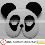 Felt panda mask ,felt animal party mask for kids Halloween gift