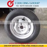 TRAZANO GOODRIDE WESTLAKE brand ECE and TUV certificate 155R13C8 4X100 boat trailer tire and wheels