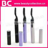 BC-0818 hot selling operated by battery heated electric eyelash curler