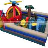 commercial kids inflatable playground with birds theme