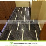 Chinese Black Marble For Antique Wood Marble Slabs