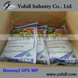 Benomyl 50% WP fungicide for 35 years