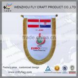 Top grade new style club pennant shaped flag