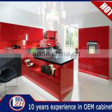 Professional Multi-color High Gloss Modular Lacquer Kitchen,Kitchen Cabinet Color Combinations