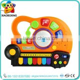 Wholesale educational toy toy bass guitar electronic organ for children