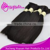 Factory price Peruvian virgin human hair bulk braiding 100% natural wholesale bulk hair weave wholesale