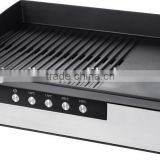 2000-Watt for Meat electric BBQ grill sandwich maker with digital temperature control GS approval