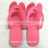 Melors Wholesale customized eva foam custom logo summer flip flop cheap comfortable women EVA flip flops