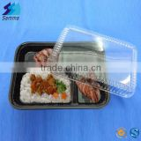 SM3-1104 Best Selling Wholesale Disposable Food Containers Lunch Boxes Plastic Disposable Bento Boxes
