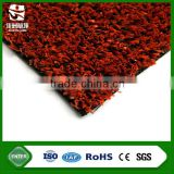 chinese hot selling red natural putting tennis turf artificial grass with easy install and clean