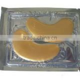 Hot saling, 100%Collagen Crystal, Anti Aging golden eye gel pad
