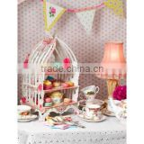 NEW intricate birdcage design birthday party bunting cake stand for weddings, birthday party, party supply,shower, tea party