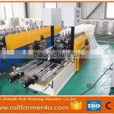 popular automatic Drywall roofing sheet cold roll forming machinery one machine make two/three profies