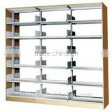 Metallic Bookcases Popular 6 Layers School Library furniture Steel Book Store Shelves