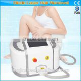 Black Dark Skin 2016 Hot Sale Portable Ipl Diode Laser Hair 1-10HZ Removal Machine / Ipl Photofacial Machine For Home Use