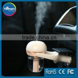 Best walmart Car Travel humidifier Steam Air Purifier Ultrasonic Aroma diffuser for Asthma dry skin Cool Mist 12V 1.5W