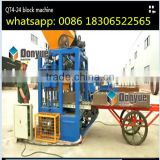 Qt4-24 brick machine Pakistan price concrete Block making Machine