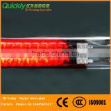 Carbon Medium Wave Infra Red light emitter lamp tube heater