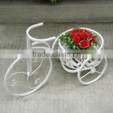 POWERLON Vintage outdoor plant stand garden flower pot wrought iron furniture