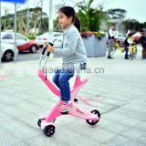 New Arrival Folding Mini Pedal Leisure Exercise Bike For Kids/Adults, 3 PV Wheels Aluminum Alloy Pedal Bikes For Wholesale