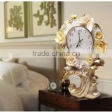 M31A momoda Luxury new home decorations table clock antique home decoration standing clock