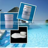 3 Chlorine TCCA 90% granular/tablet for Swimming pool water treatment ( Trichlor oisocyanuric acid)