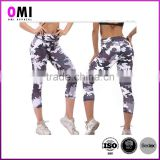 color ombre leggings woman push up body shape function spandex leggings custom printed leggings
