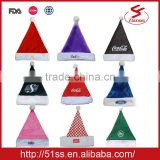 Wholesale christmas hat for promotion
