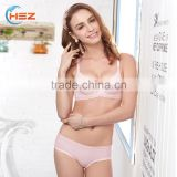 HSZ-2259 Latest Design Mature Women Seamless Underwear Sexy Panties Ladies Lingerie Hot Convertible Underwired A Size Bra Photos