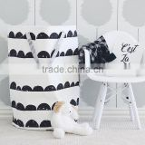 S65597A Laundry basket only for children room decoration toys cleared canvas storage bag