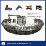Semi-automatic Insole and Outsole Polyurethane Foam Injection Machine PU Shoe Sole Making Machin