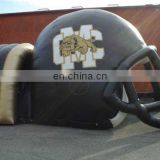 new arriveal weather-resistant inflatable sports tunnel with helmet