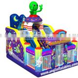 2015 new design outer planet inflatable slide