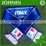 OEM Customized High Quality Different Polyester Fans Scarfs
