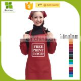Factory price disposable pe apron blue with good quality