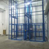 Warehouses Double Sides Hydro Cylinder Mezzanine Goods Lift