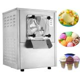 2019 Commercial Tabletop Batch Freezer Auto-Dispensing Hard Ice Cream Machine Restaurant Gelato Machine 20L/H