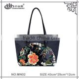 High quality lady fashion factory Leisure canvas handbag oem women's shopping tote hand bag wholesale