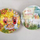 porcelain chinese plate for kids use porcelain children dinner plate child dinner set with animal decal