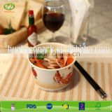 520cc disposable food container paper hot soup bowl                                                                         Quality Choice
