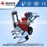 Harvester for rice and wheat with baling wheat straw function