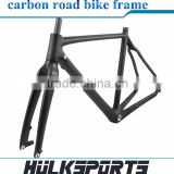 Top Quality Cyclocross carbon bicycle frame disc brake Carbon road Bike Frame including the front fork