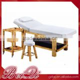 TOP Sale High Cost Effective Spa Bed Wooden Portable Massage Bed,Wholesale Beauty Salon Equipment