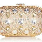 Champagne Crystal Sparkling Bridal Party Evening Bags Fashion