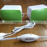 Combination speakers for listening computer mobile phone digital music player connection support USB Multimedia Speaker